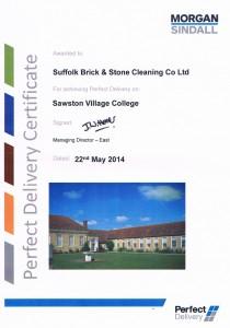 sawston village college - testimonial